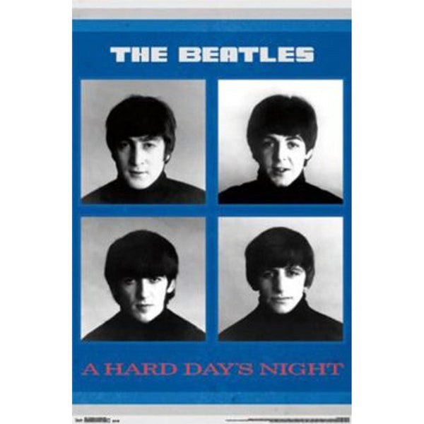 The Beatles - A Hard Day's Night 22x34 Standard Wall Art Poster