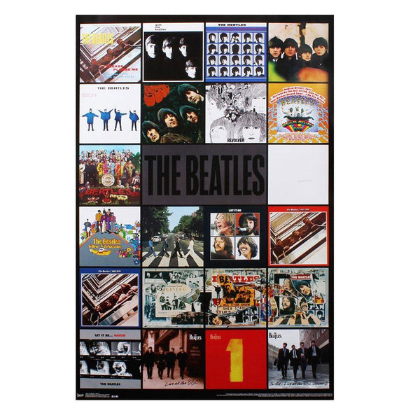 The Beatles - Albums 22x34 Standard Wall Art Poster