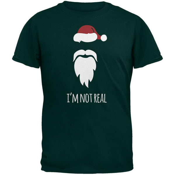 Santa I'm Not Real Forest Adult T-Shirt