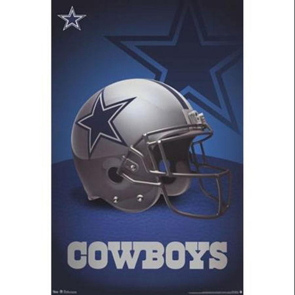 Dallas Cowboys - Helmet Logo 24x36 Standard Wall Art Poster