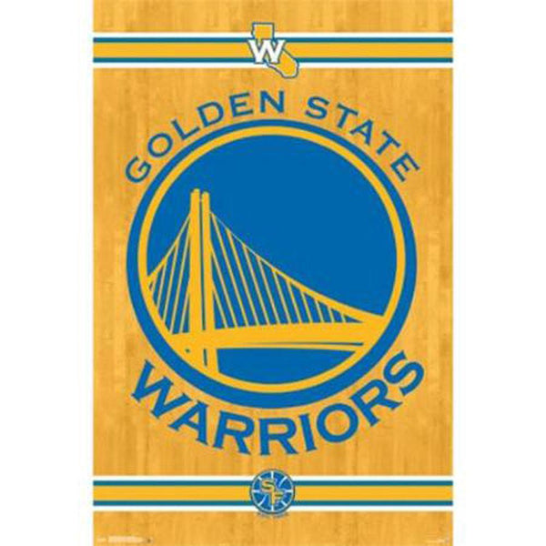 Golden State Warriors - Logo 24x36 Standard Wall Art Poster