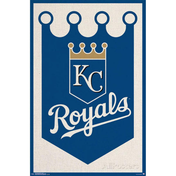 Kansas City Royals - Logo 24x36 Standard Wall Art Poster