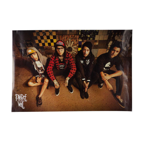 Pierce the Veil - Sitting 24x36 Standard Wall Art Poster