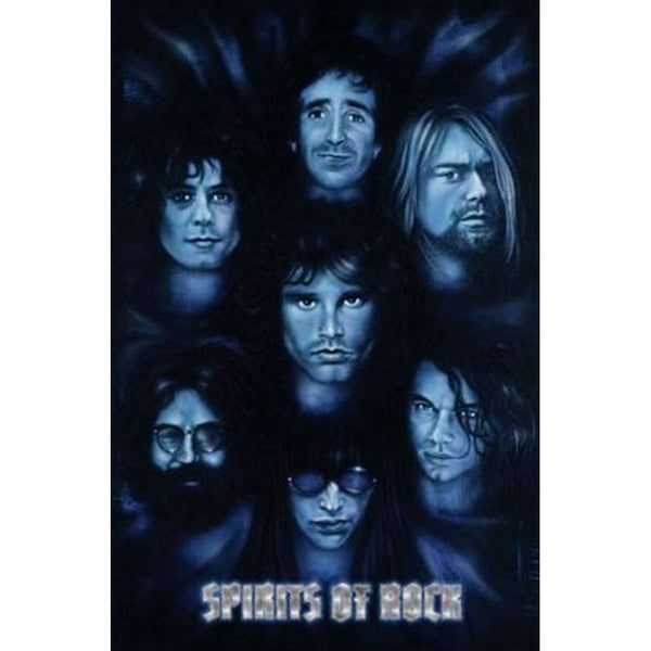 Spirits of Rock 24x36 Standard Wall Art Poster