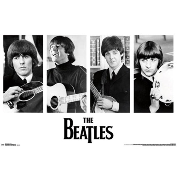 The Beatles - Instruments 24x36 Standard Wall Art Poster