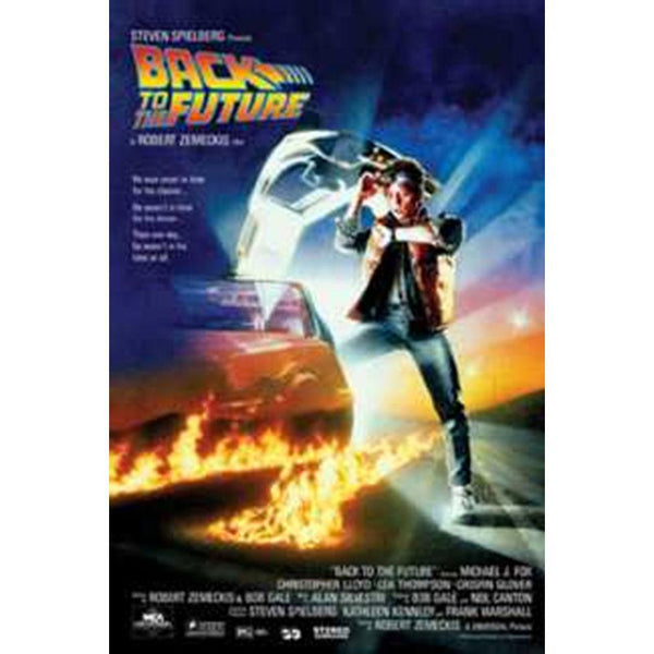 Back to the Future - Movie Sheet 24x36 Standard Wall Art Poster