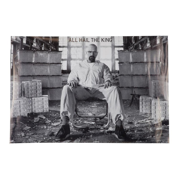 Breaking Bad - All Hail the King 24x36 Standard Wall Art Poster