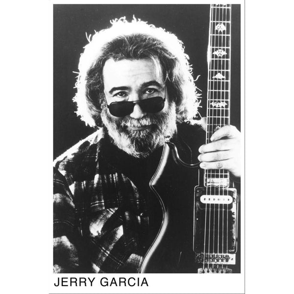 Jerry Garcia - Guitar 24x36 Standard Wall Art Poster