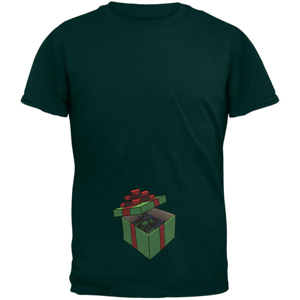 Box In A Box Christmas Gift Forest Adult T-Shirt