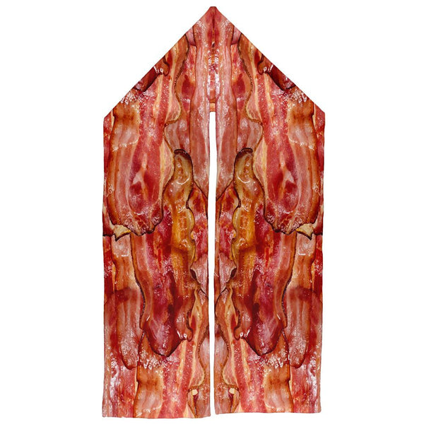 Bacon Wrap Warm Fleece Scarf