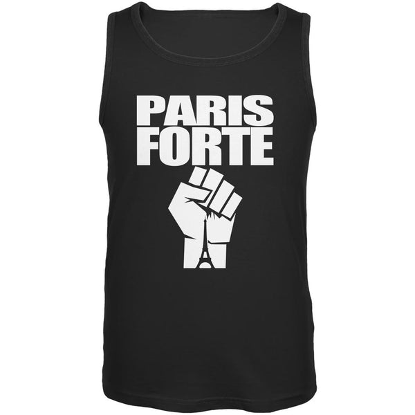 Paris Strong Forte Black Adult Tank Top