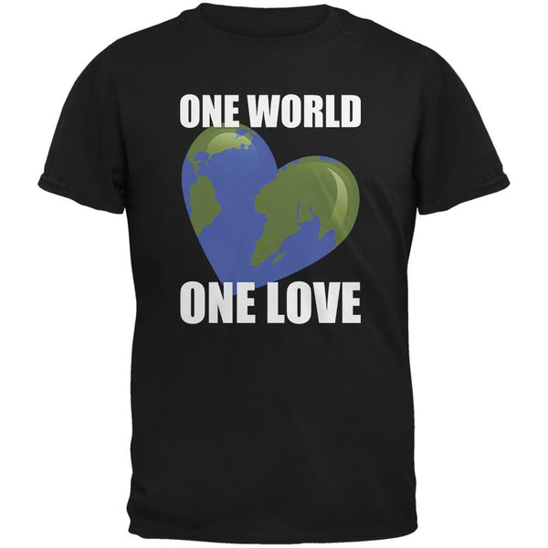 One World One Love Black Youth T-Shirt