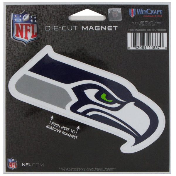 Seattle Seahawks - Logo Die-Cut Magnet