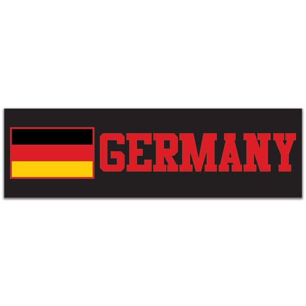 World Cup Germany 3x10in. Rectangular Decal Sticker