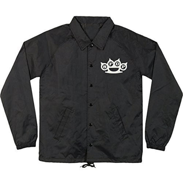 Five Finger Death Punch - Skull Knuckles Adult Coaches Jacket