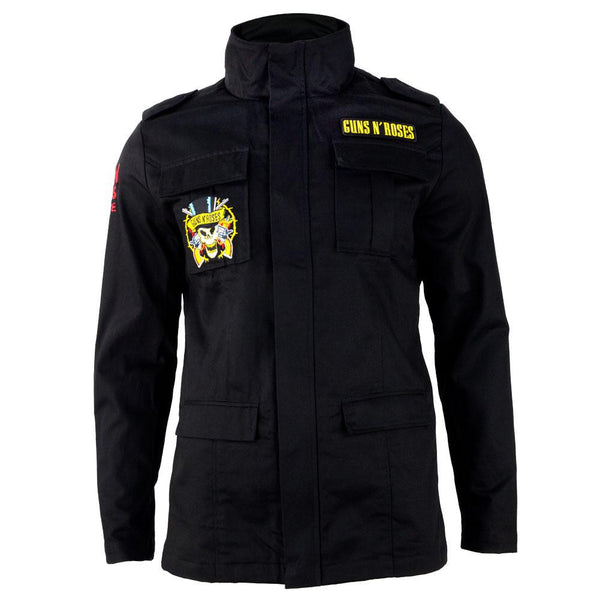 Guns N Roses - Cross Logo Adult Military Jacket