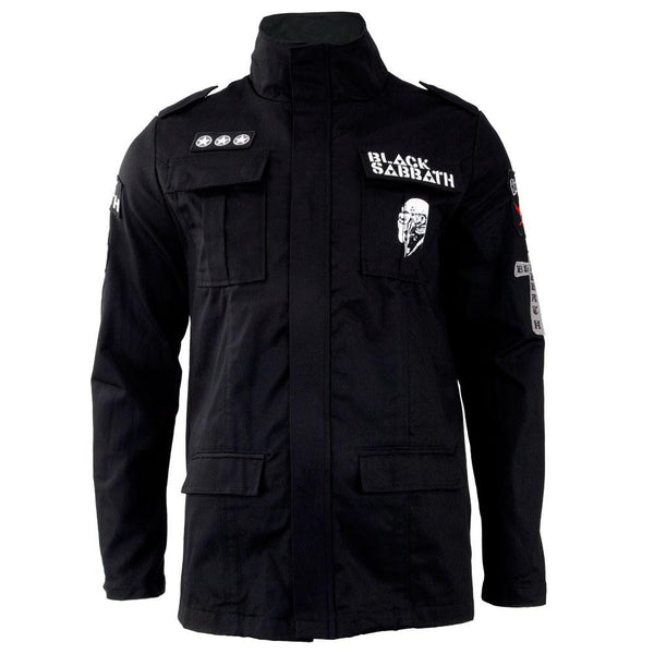 Black Sabbath - Never Say Die Adult Military Jacket