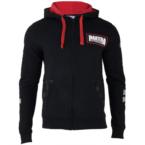 Pantera - Cowboys From Hell Cut N Sew Adult Zip-Up Hoodie