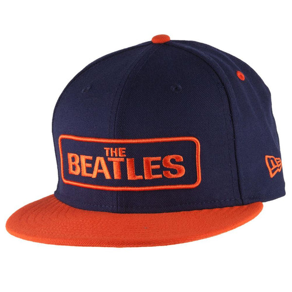 The Beatles - Block Logo Adult Snapback Hat