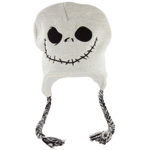 Nightmare Before Christmas - Jack Face Peruvian Knit Hat