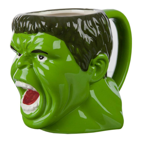 Incredible Hulk - Angry Face Molded Mug