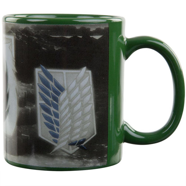 Attack On Titan - Badges Coffee Mug