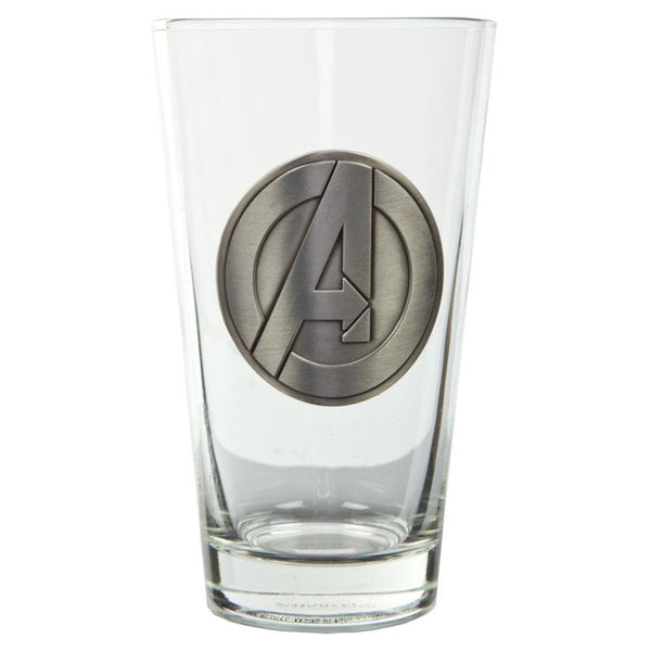 Avengers - Logo Medallion Pint Glass