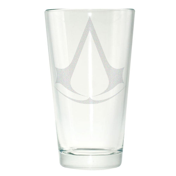 Assassins Creed - Logo Emblem Etched Pint Glass