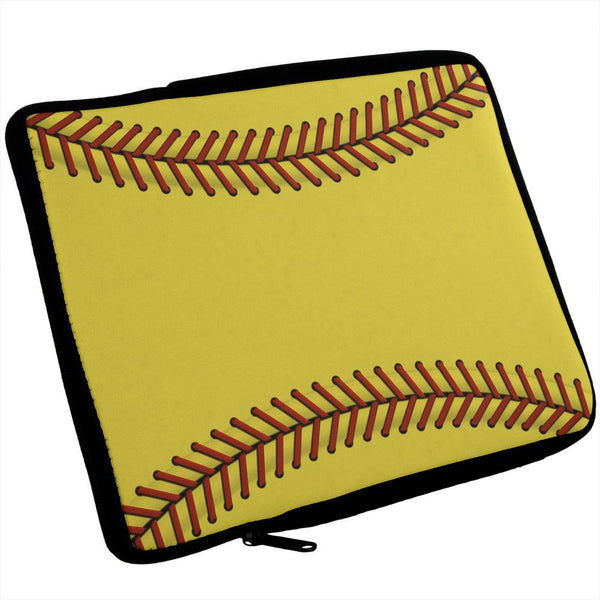 Horizontal Softball iPad Tablet Sleeve