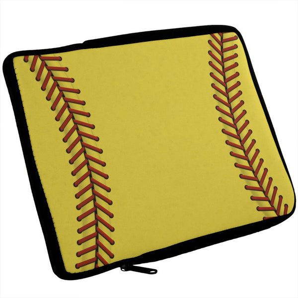 Vertical Softball iPad Tablet Sleeve