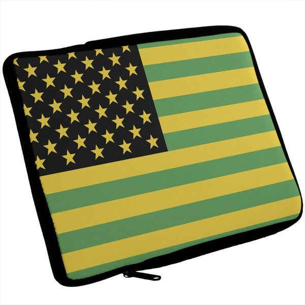 Jamaican American Flag iPad Tablet Sleeve