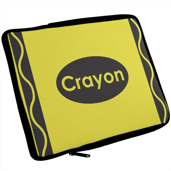Crayon Yellow iPad Tablet Sleeve