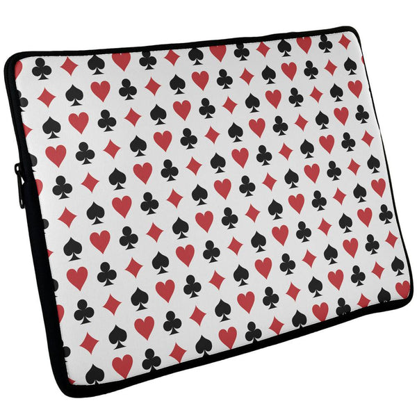 All Over Playing Cards iPad Tablet Sleeve