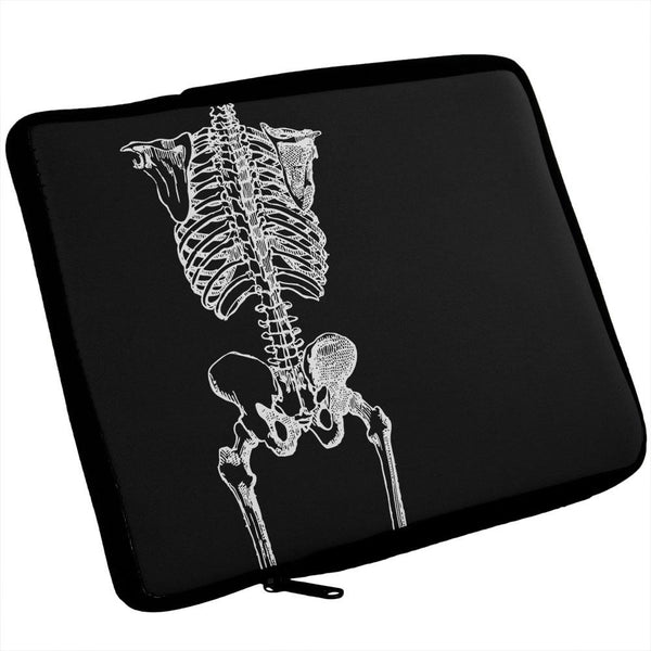 BW Skeleton iPad Tablet Sleeve