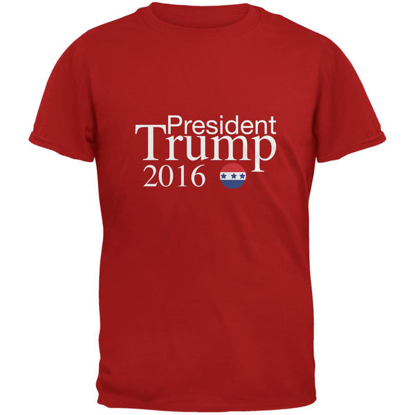 Election President Trump 2016 Red Adult T-Shirt