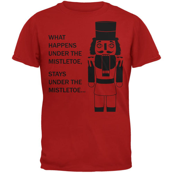 What Happens Here Nutcracker Red Adult T-Shirt
