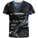 Modern Moon All Over Adult T-Shirt