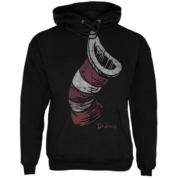 Dr Seuss - Cat In The Hat Distressed Hat Adult Hoodie