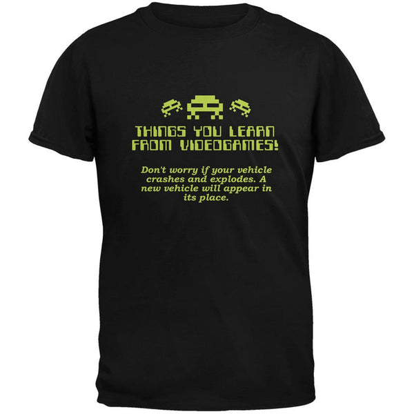 A New Vehicle Will Appear Black Adult T-Shirt