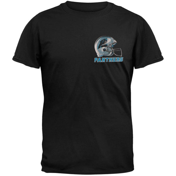 Carolina Panthers - Sky Helmet Adult T-Shirt