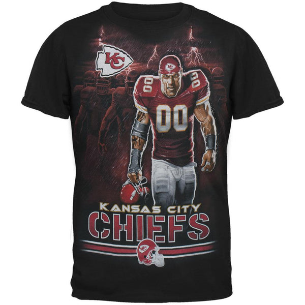 Kansas City Chiefs - Tunnel Adult T-Shirt