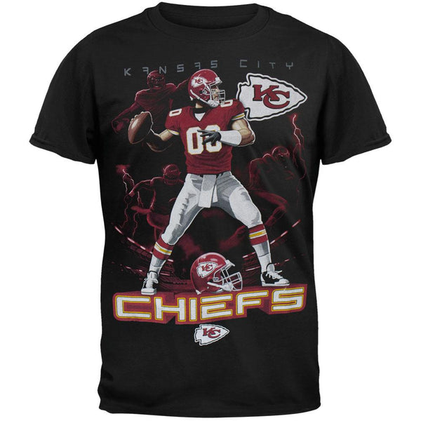 Kansas City Chiefs - Quarterback Adult T-Shirt