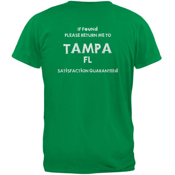 St Patricks Day Return Me to Tampa Irish Green Adult T-Shirt