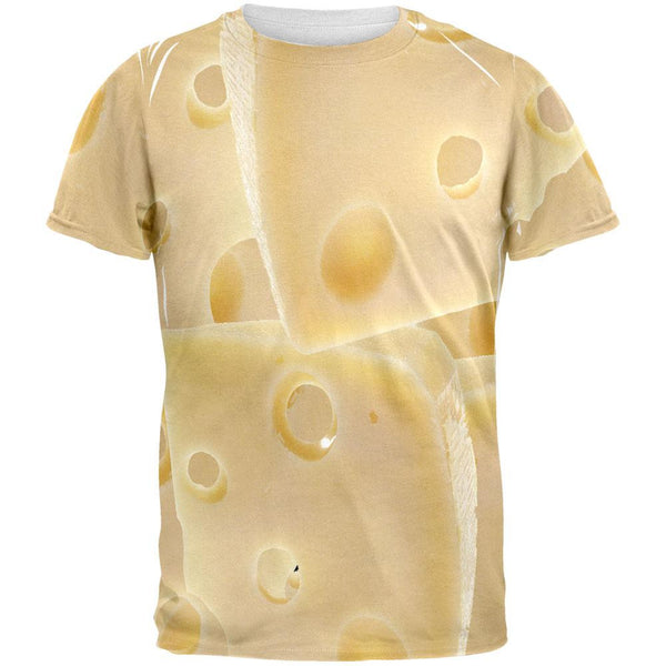 Swiss Cheese All Over Adult T-Shirt