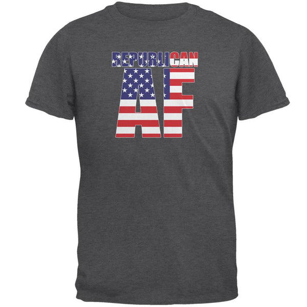 Election President Republican AF Dark Heather Adult T-Shirt