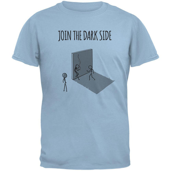 Join the Dark Side Light Blue Adult T-Shirt
