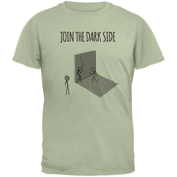 Join the Dark Side Serene Green Adult T-Shirt