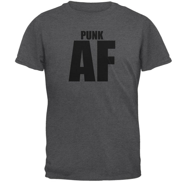 Punk AF Dark Heather Adult T-Shirt