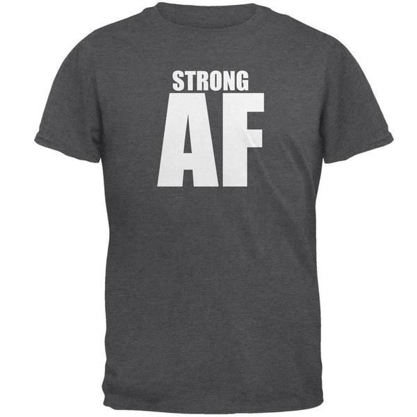 Strong AF Dark Heather Adult T-Shirt