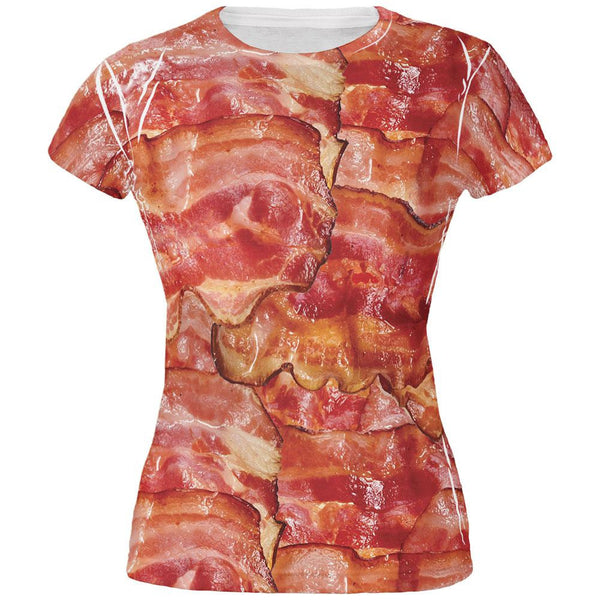 Bacon All Over Juniors T-Shirt